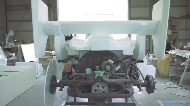 ミニ四駆 実写化 プロジェクト タミヤ エアロアバンテ 運転 お披露目に関連した画像-05