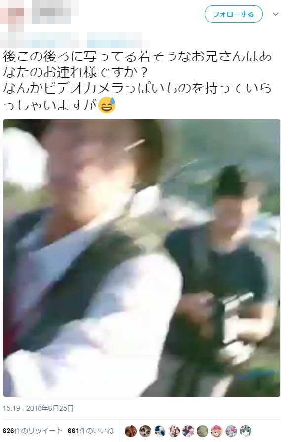 ツイッター カメラマン 三脚 花壇 暴力 事件に関連した画像-10