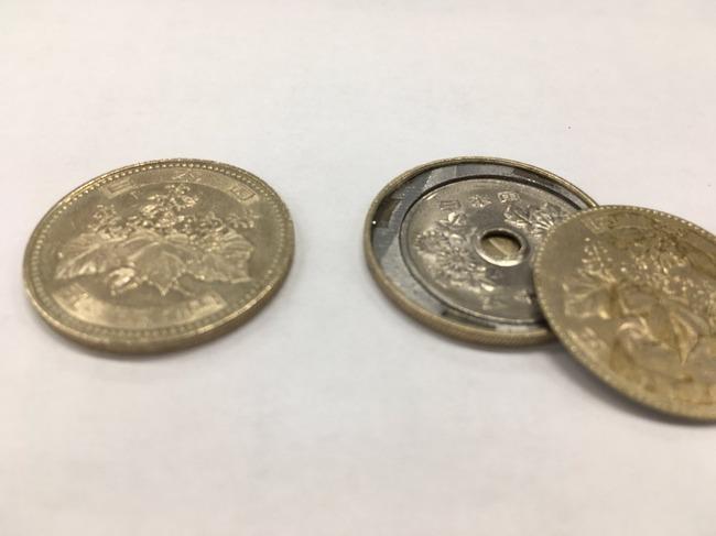 偽500円硬貨 偽造硬貨 マジック用に関連した画像-04