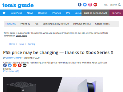 PS5 ソニー 価格 XboxSX XboxSeriesX に関連した画像-02
