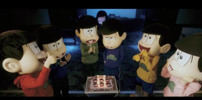 生誕祭 誕生日 おそ松さん おそ松くん 松野家 6つ子 誕生日リミックス SIX SAME FACESに関連した画像-06