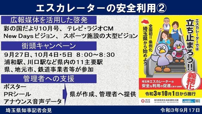エスカレーター 埼玉県 条例に関連した画像-03