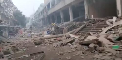 中国市場ガス爆発事故25人死亡に関連した画像-01
