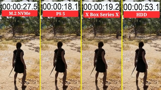 PS5 Day1パッチ 後方互換タイトル ロード改善 XboxSX 比較に関連した画像-07