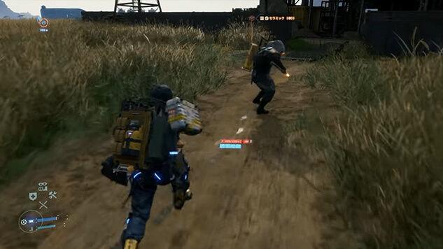 デス・ストランディング 儀式の人 メタルギアソリッド MGSV ミュール戦 スーパープレイ 動画に関連した画像-11