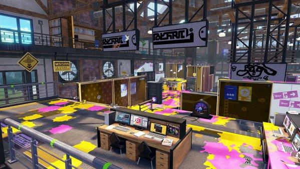 スプラトゥーン ステージ アップデート アンチョビットゲームズに関連した画像-02