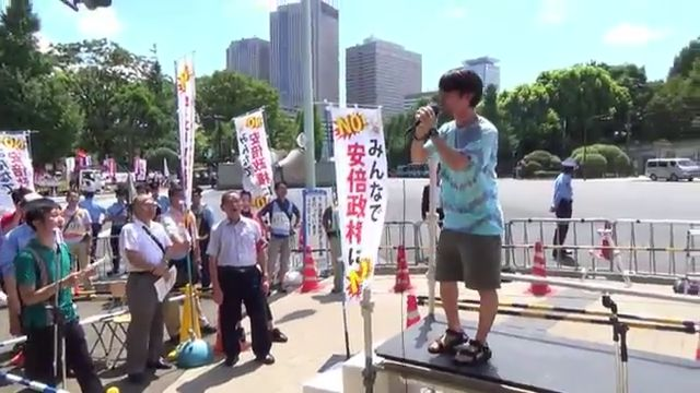 SEALDs デモ 低レベルに関連した画像-01
