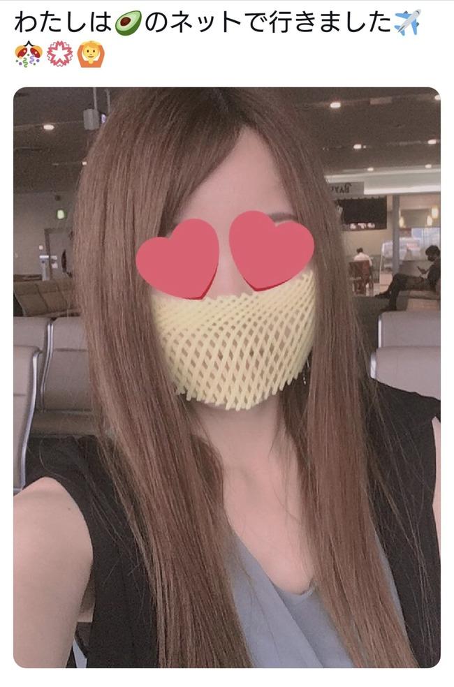 反マスク 洗濯ネット 自作マスクに関連した画像-03
