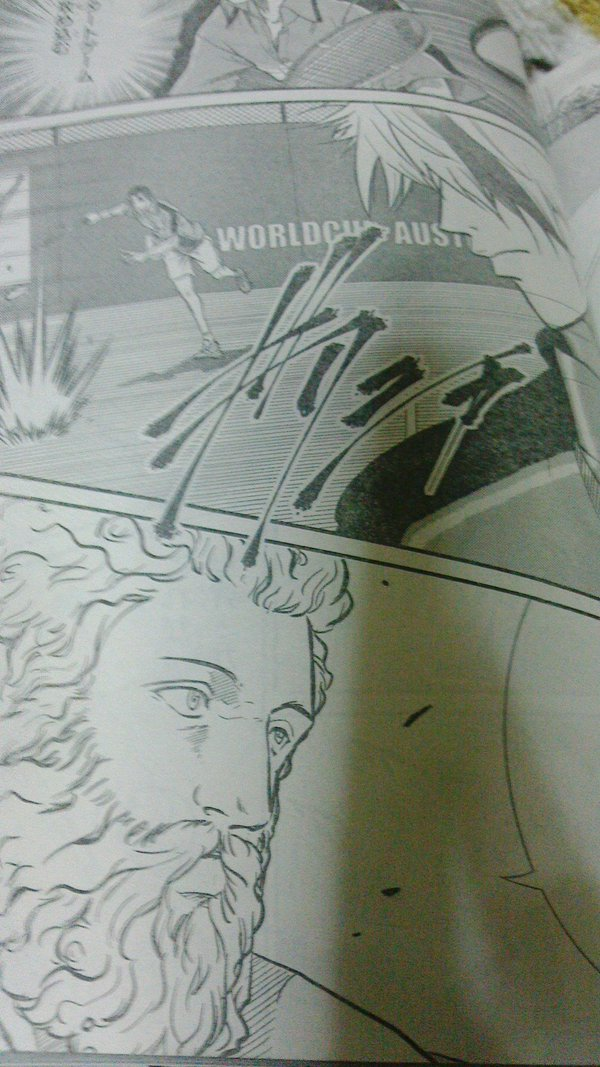 新テニスの王子様 ギリシャ 擬音 ヘラクレス エヴァゲロスに関連した画像-03