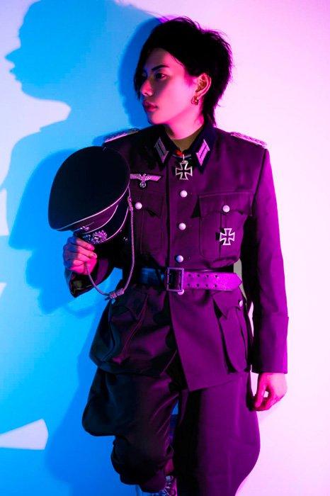 大阪 ホストクラブ アンフェア ナチス ハーケンクロイツ 外国人 ブチギレに関連した画像-04