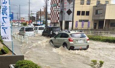 ゲリラ豪雨 水没 豊橋に関連した画像-01