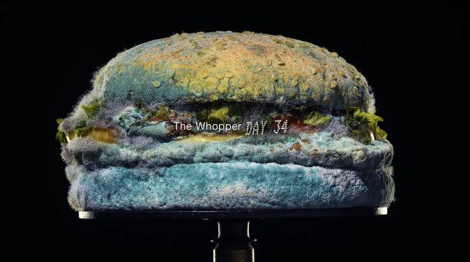 バーガーキング カビ ハンバーガー 宣伝 防腐剤に関連した画像-04