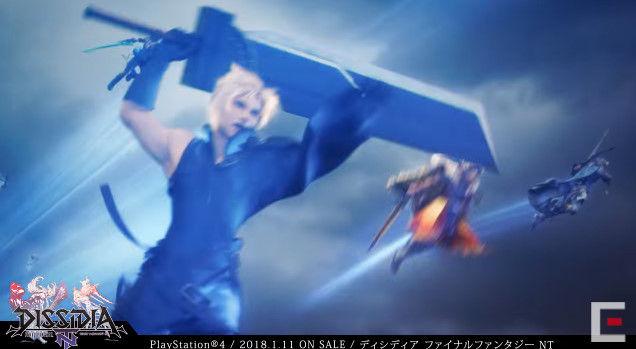 ディシディアファイナルファンタジーNT アーケード PS4版 オープニングに関連した画像-21