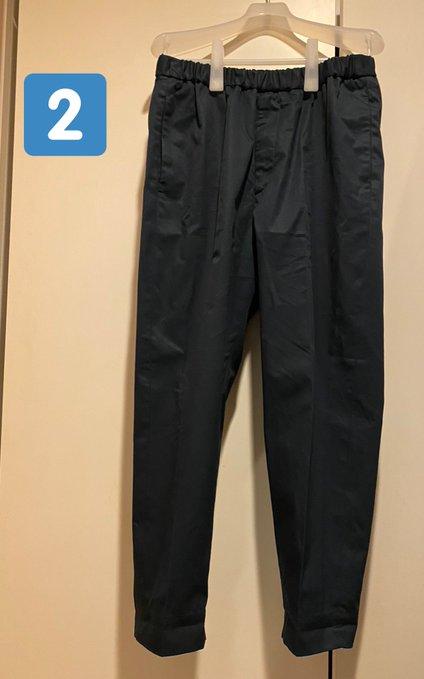 ユニクロ 無印 ジルサンダー ズボン 並べる クイズに関連した画像-03