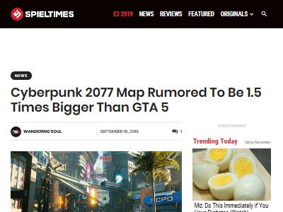 サイバーパンク2077 グランド・セフト・オート GTA5 マップに関連した画像-02
