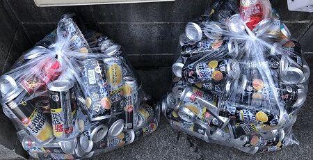 ゴミ捨て場 ストロングゼロ 整頓 ゴミ袋 空き缶 治安に関連した画像-01