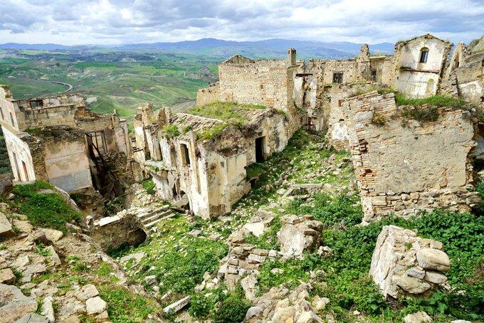 クラーコ イタリア 廃村 廃墟に関連した画像-03