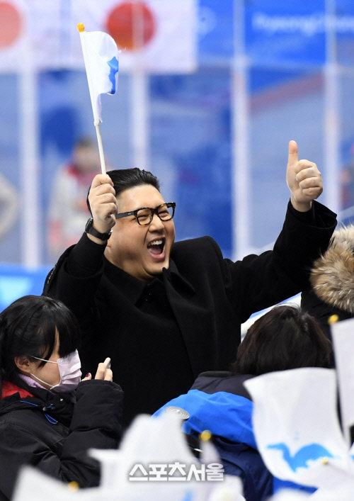 金正恩 ものまね芸人 北朝鮮 応援団 突撃に関連した画像-04