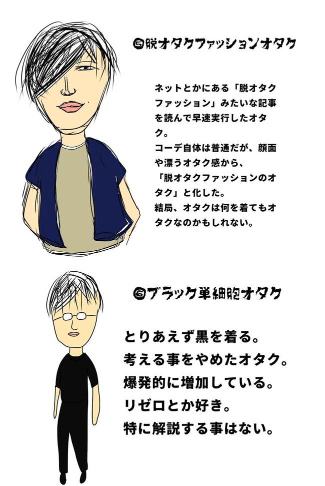 オタク ファッション 図鑑に関連した画像-04