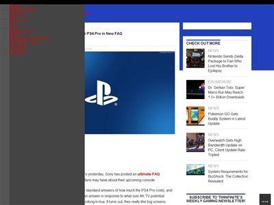 PS4Pro 4K 60インチに関連した画像-02