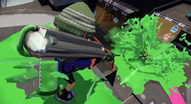 スプラトゥーン アップデート 新武器 ガトリング バケツに関連した画像-03