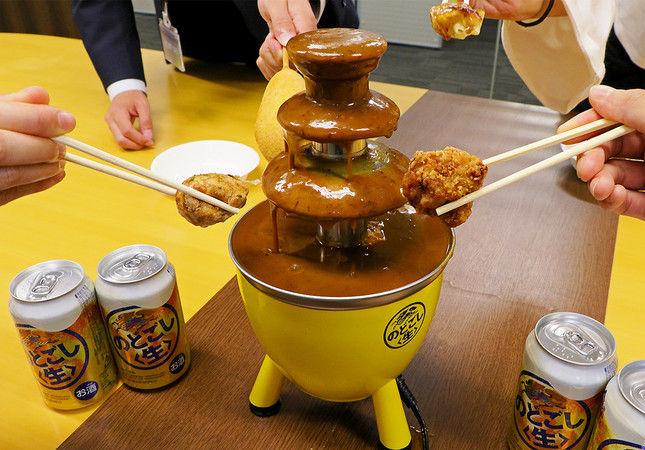 カレーファウンテン カレー ディップ キリンビール のどごし生に関連した画像-03