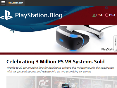PSVR 300万台 累計販売台数に関連した画像-02