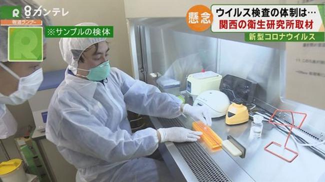 新型コロナ 検査技師 PCR検査 動画に関連した画像-01