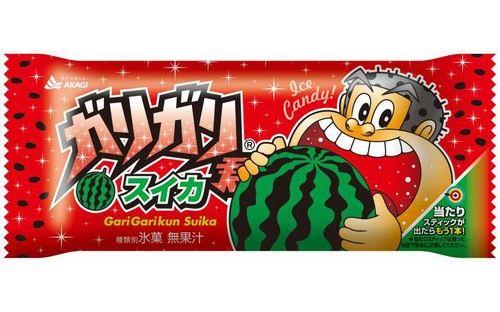 ガリガリ君 アイス スイカ味 新商品 赤城乳業 季節限定 梨味に関連した画像-01