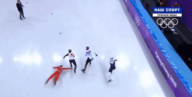 オリンピック 五輪 スピードスケート ショートトラック 北朝鮮 妨害に関連した画像-05