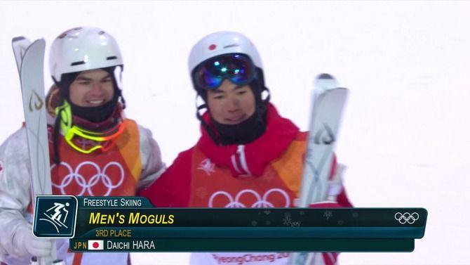 平昌五輪 モーグル 原大智 銅メダルに関連した画像-03