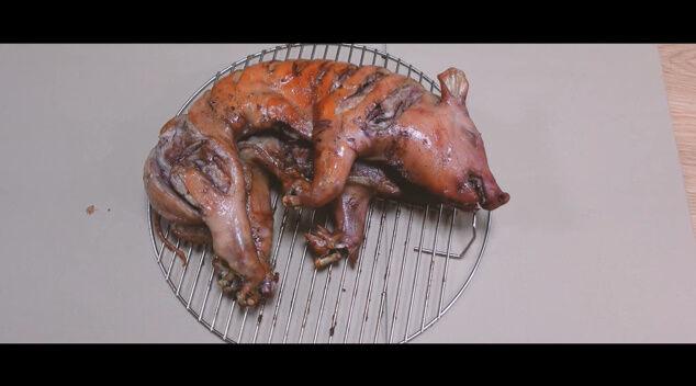 100日目に食われるブタ YouTube チャンネル 100日後 食べる 丸焼き 動画に関連した画像-03