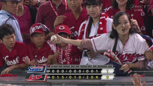 野球 ボール 横取りに関連した画像-01