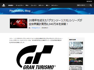 グランツーリスモシリーズ 全世界累計実売 8040万本に関連した画像-02