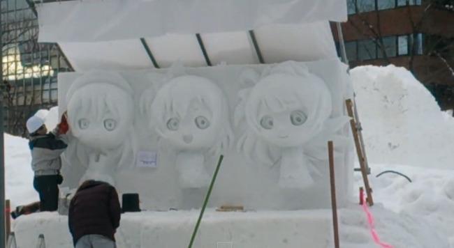 ラブライブ! 雪像 さっぽろ雪まつりに関連した画像-03