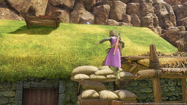 ドラゴンクエスト11 ドラクエ ドラゴンクエスト スクリーンショット ボウガンアドベンチャー 限定 お楽しみ要素 マジックスロットに関連した画像-09