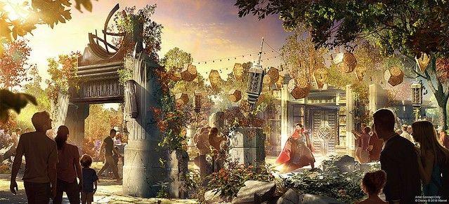 ディズニーランドマーベルエリアに関連した画像-06