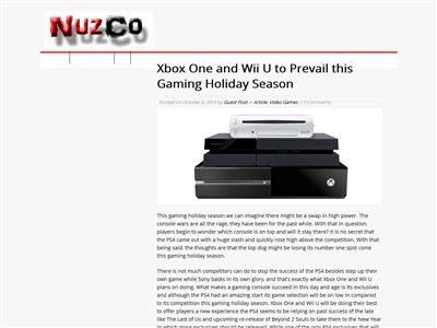 PS4 WiiU XboxOneに関連した画像-02