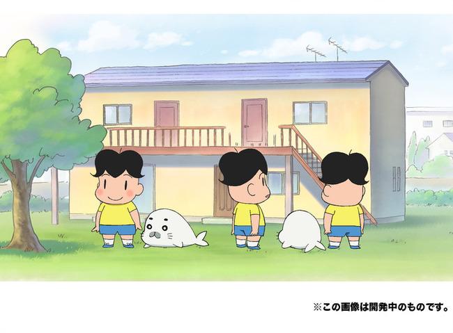 少年アシベ GO!GO!ゴマちゃん アニメ化に関連した画像-03