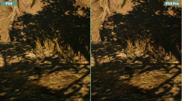 バイオハザード 比較 PS4 PS4Proに関連した画像-07
