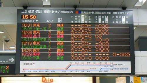宮前平駅 電光掲示板 バグに関連した画像-01