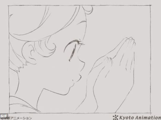 京アニ 京都アニメーション 公式 ツイッター GIFアニメ クオリティ 世界中に関連した画像-02