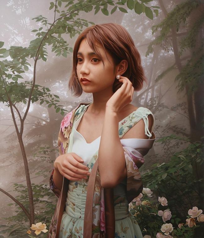 油絵 人物画に関連した画像-03