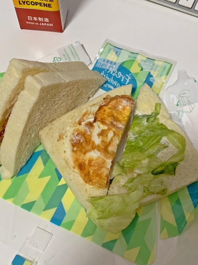 ローソン サンドイッチ 中身 スカスカ 中国 ハムチーズサンドに関連した画像-06