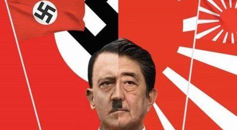 韓国 旭日旗 ヒトラー 安倍 プロパガンダ 情報宣伝工作に関連した画像-01