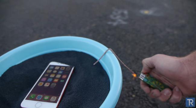 携帯 iPhone 爆発 火薬に関連した画像-01