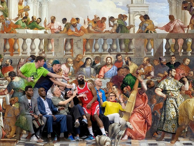NBA ジェームズ・ハーデン ルネサンス絵画に関連した画像-03
