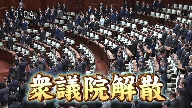 衆議院 解散 総選挙 衆院選に関連した画像-01
