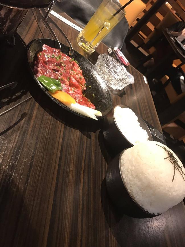 焼肉屋 ご飯 お米 ライス 大盛り 写真に関連した画像-03