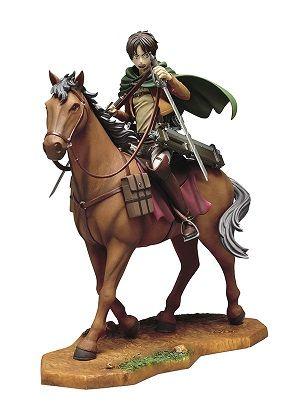進撃の巨人 一番くじ フィギュア エレン リヴァイ セブンイレブン 騎馬 マグカップ タペストリー ポストカードに関連した画像-03